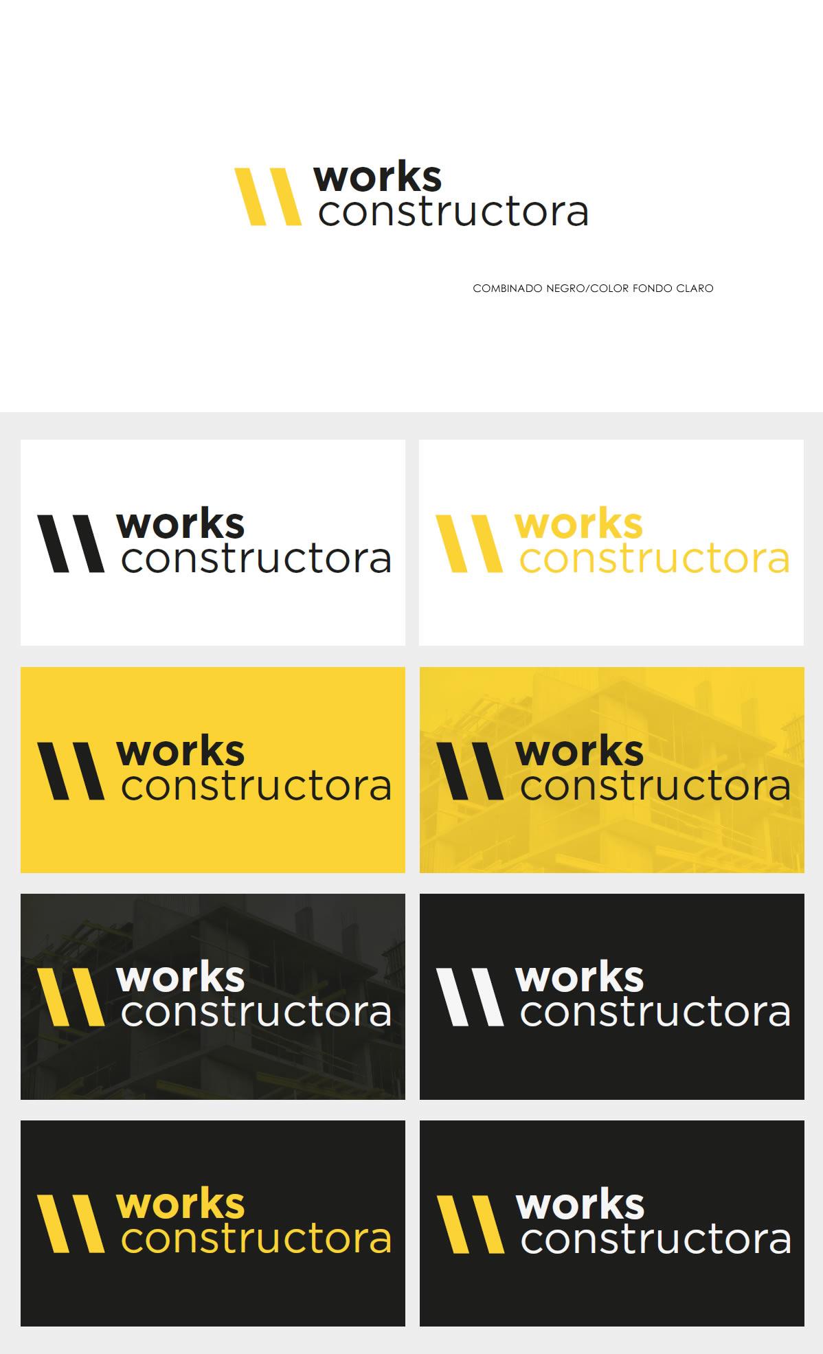 DISEÑO DE LOGO WORKS CONSTRUCTORA