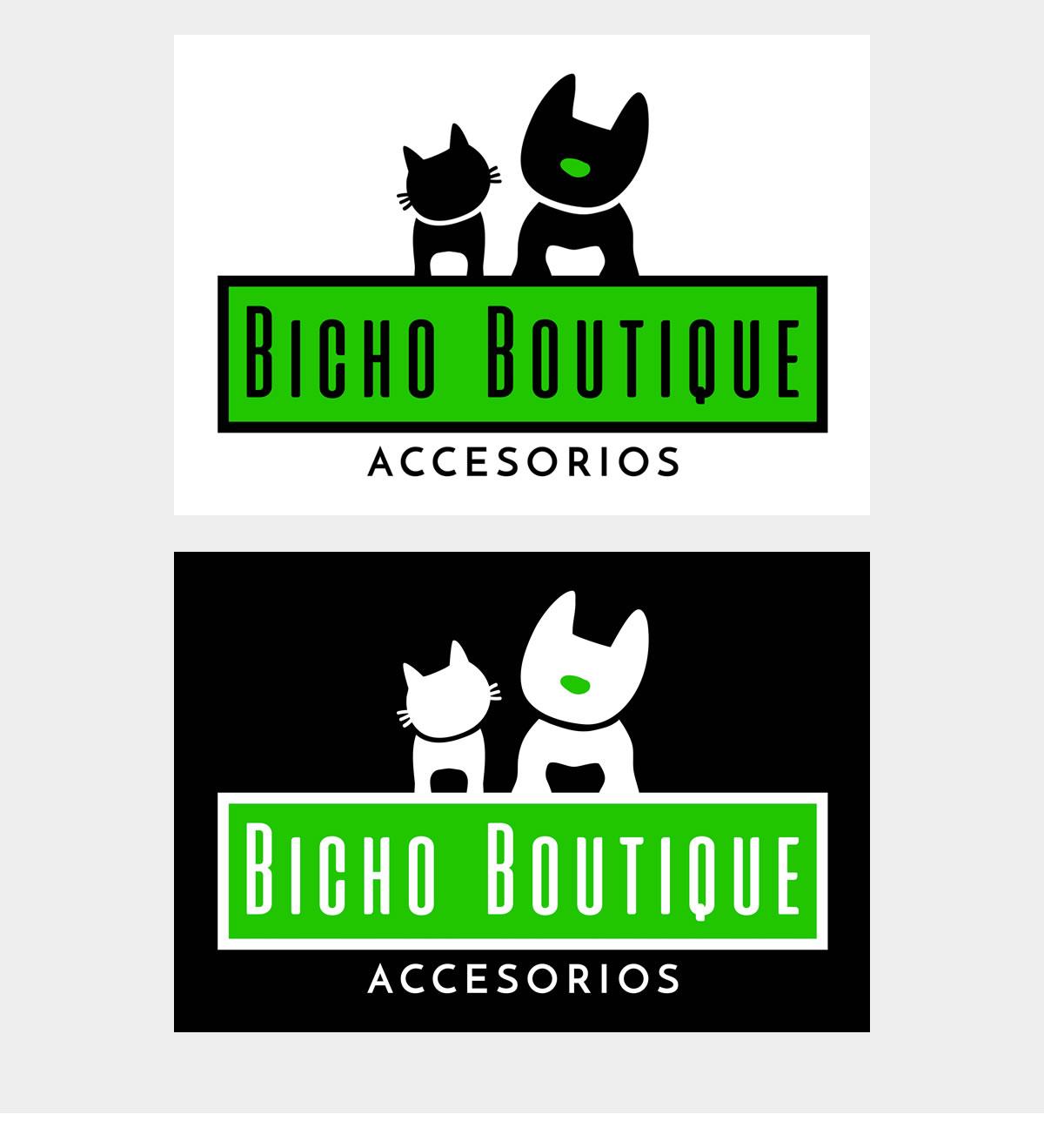 DISEÑO DE LOGO BICHO BOUTIQUE