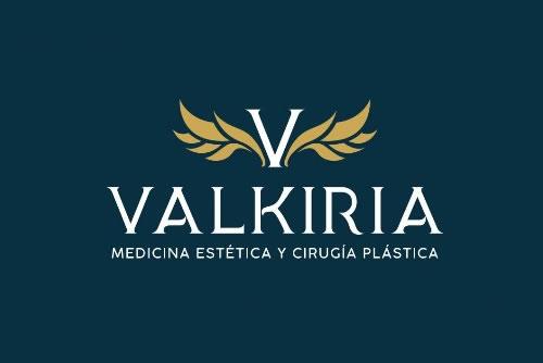 Diseño de logo Estética Valkiria